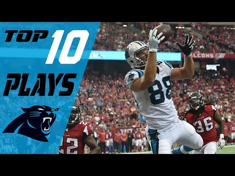 Panthers Top 10 Plays of the 2016 Season | NFL Highlights