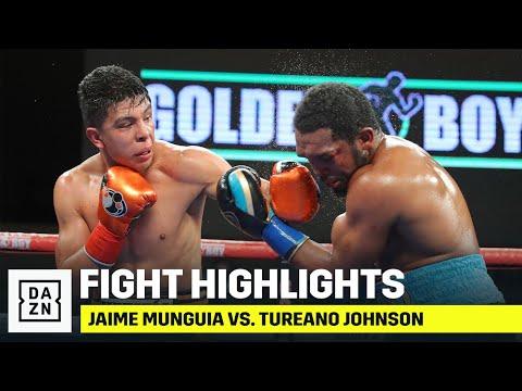 HIGHLIGHTS | Jaime Munguia vs. Tureano Johnson