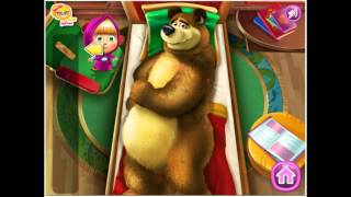 Masha and The Bear new game episode - Mash and the bear injured