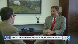 Former US Attorney: Return to 'war on drugs' a bad idea