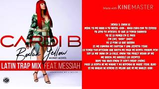 Cardi B  - Bodak Yellow (spanish version) (Lyrics)