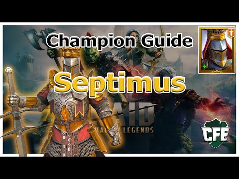 RAID Shadow Legends | Champion Guide | Septimus