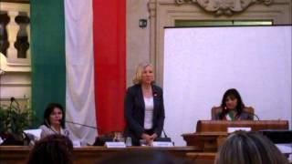 Terremoto ripreso in diretta palazzo del comune di Reggio Emilia 21/06/2013
