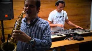 (DJ) Ricardo Cozza  &  (Sax) Keller Jr.