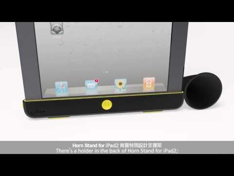 Amplificador para iPad Gramofone