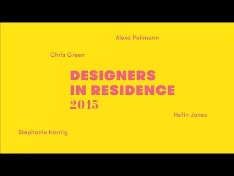 Designers in Residence 2015