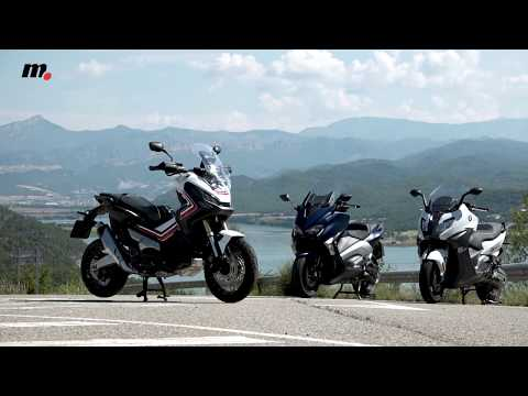 BMW C650 Sport/Honda X-ADV/ Yamaha TMAX DX | Comparativo / Test / Review en español | motos.net