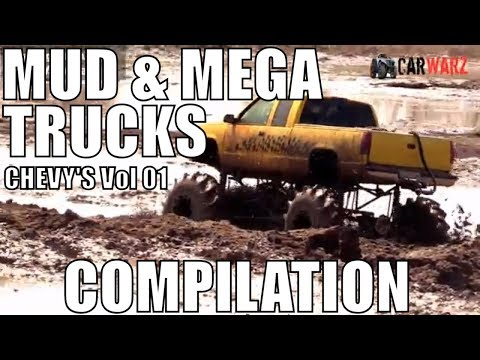 CHEVY MUD AND MEGA TRUCK MUD COMPILATION 2018 VOL 01