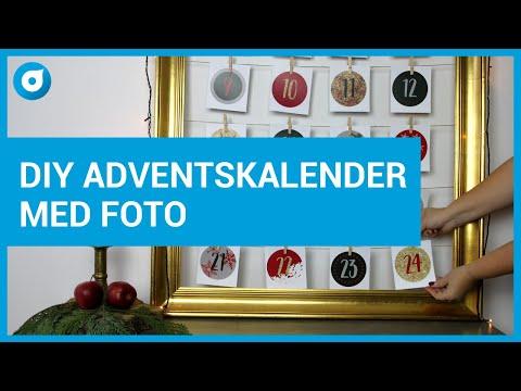 DIY - Så gör du en unik adventskalender med dina foton - Smartphoto Pysselminuten