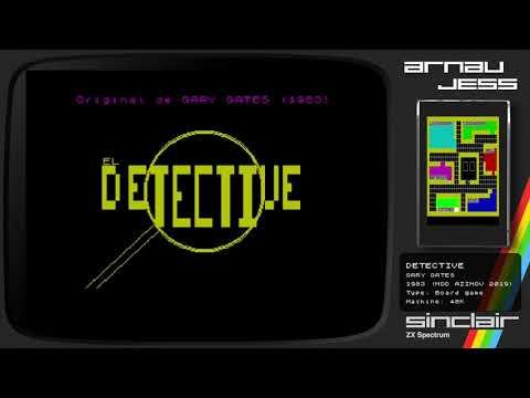 DETECTIVE Zx Spectrum by Gary Gates (Mod Azimov)