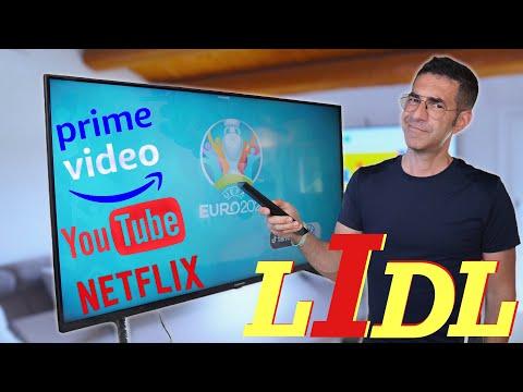 HO COMPRATO AL LIDL LA SMART TV 4K UHD 5 …