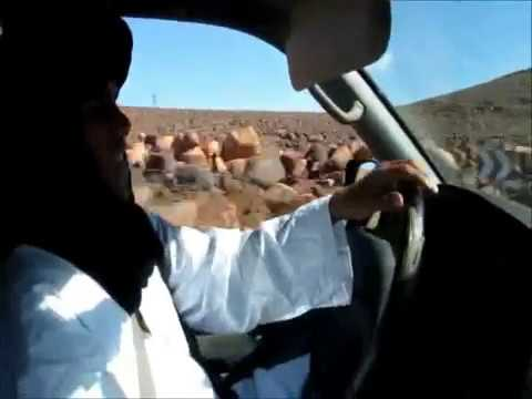 Driving in Morocco from Ouarzazate to M'Hamid