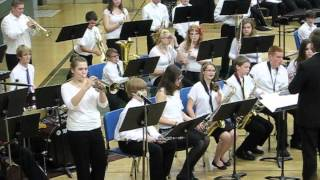 Kick in the brass - 8th grade jazz band.