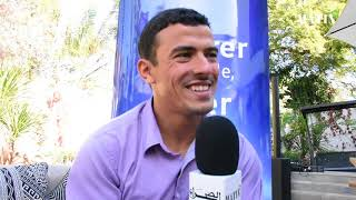 JO d'hiver 2018 : Mohamed Lahna 1er para-athlète marocain à soulever la Torche olympique