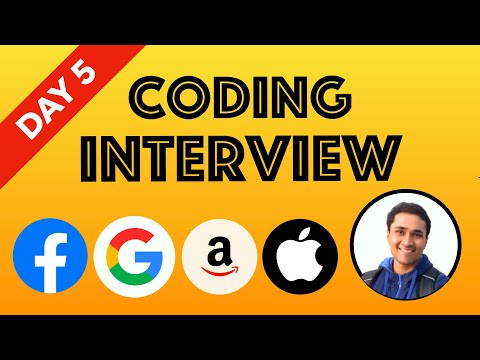 🔴 Day 5 (Bit Manipulations) - Mock Coding Interview || Interview Prep for Beginners