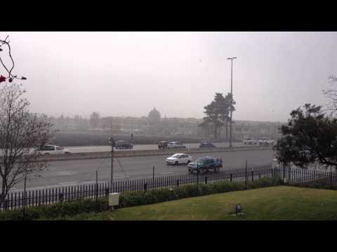 Snowfall on the N1 North in Midrand