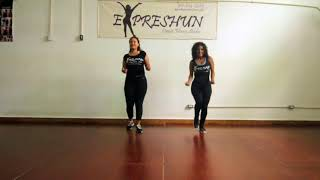 "Dance Rotuine ""Particula"" Major Lazor & DJ Maphorisa"