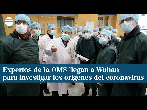 Expertos de la OMS llegan a Wuhan para investigar los orígenes del coronavirus