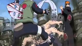 Kakashi Vs Pain - Link Park Numb