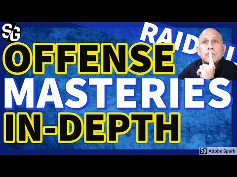 [RAID SHADOW LEGENDS] OFFENSE MASTERIES IN DEPTH