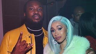Cardi B Cozy's Up With Nicki Minaj's EX Meek Mill!