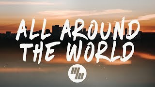BRKLYN - All Around The World (Lyrics / Lyric Video) feat. Lenachka