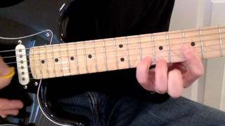 What A Beautiful Name - Lead Guitar Tutorial (Hillsong)