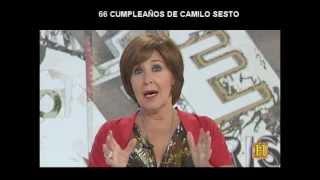 Camilo Sesto - Cumpleaños 66 en TVE