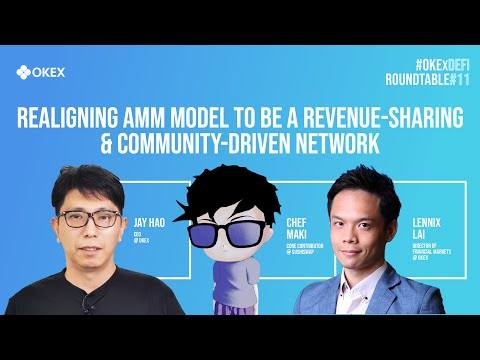 SushiSwap: Realigning AMM model: a revenue-sharing & community-driven network | #OKExDeFi Roundtable