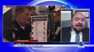 El abogado Pablo Hurtado explica la Visa U
