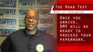 CT DMV - Taking the Road Test