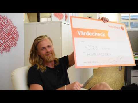 Erik Sander har samlat in 43 965 kr till MS-forskningen!
