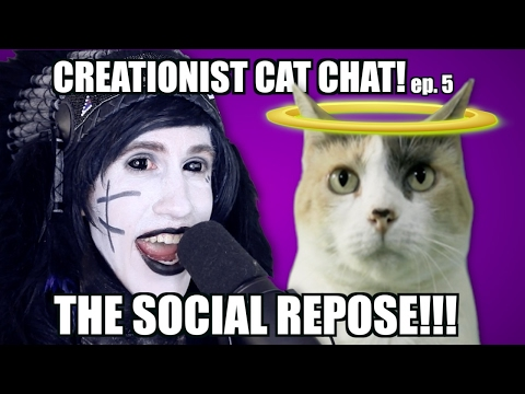 Creationist Cat Chat with THE SOCIAL REPOSE!
