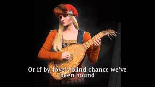 The Witcher 3: Wild Hunt - The Wolven Storm - Priscilla's Song lyrics