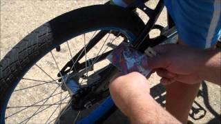How to Make a Bike Sound Like A Harley Using a Sports Card