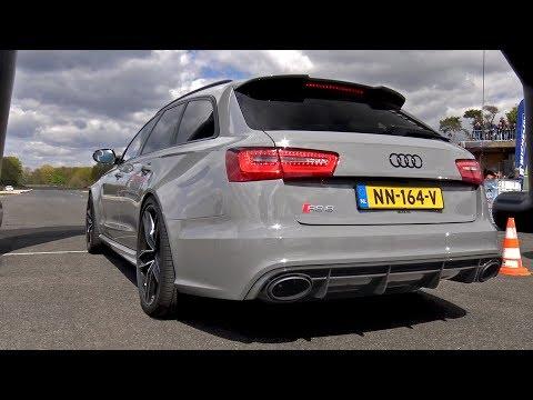 Audi RS6 Avant 4.0 TFSI V8 Quattro vs Mercedes-Benz E63S AMG