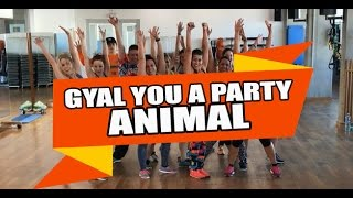 [ONLY PC] GYAL YOU A PARTY ANIMAL - Charly Black ft. Daddy Yankee Remix / ZUMBA con MELISSA DA CRUZ