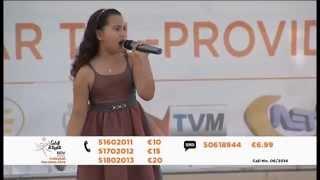 Gislaine Mifsud - Dancing In The Rain (live)