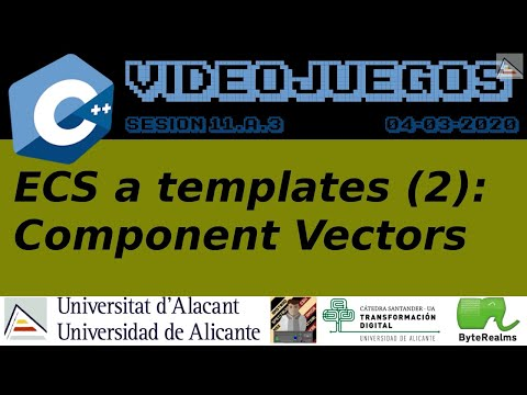 C++ : Creando Vectores de Componentes por tipo (ECS a templates)