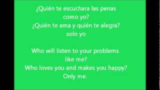 Quien Te Quiere Como Yo TRANSLATION letra/lyrics ENGLISH/SPANISH