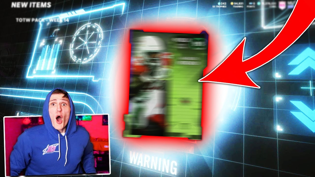 IT'S DOM - This pull was seriously *INSANE*... - Madden 21 Ultimate Team