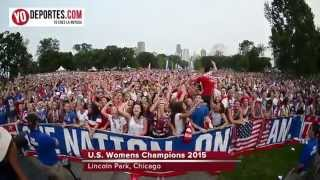 Chicago Lincoln Park viewing Party US Women's World Cup 2015