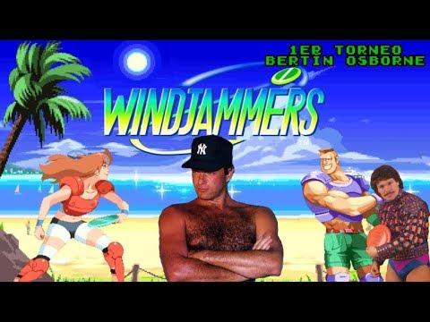 1º Torneo Bertín Osborne de Windjammers (directo resubido)