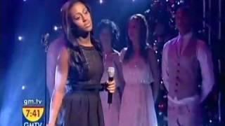 Alexandra Burke Live On GMTV!!  Singing Hallelujah!