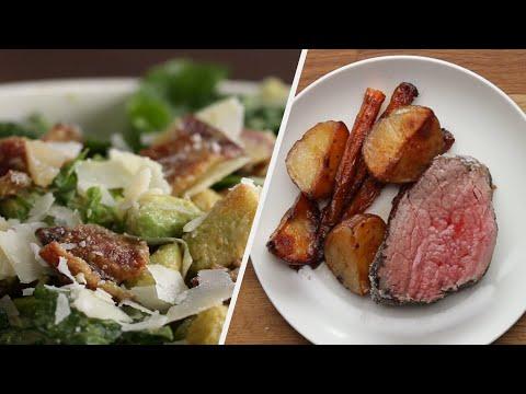 Easy Three-Course Holiday Dinner For Beginner Cooks ?Tasty