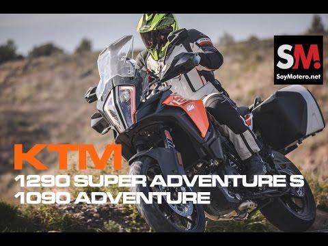 KTM 1290 Super Adventure S y KTM 1090 Adventure 2017: Prueba Moto Maxi Trail [FULLHD]