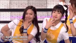 150523 Oh My Girl (오마이걸) - Intro + Cupid (큐피드) @ Dream Concert 2015