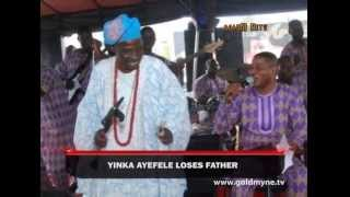 GOSPEL SINGER, YINKA AYEFELE LOSES FATHER (Nigerian Entertainment)