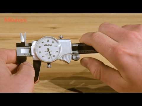Mitutoyo Demo: How to Read a Dial Caliper