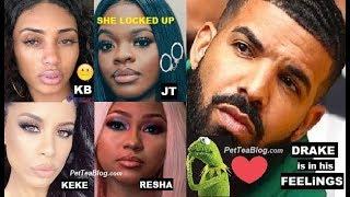 Here's Drake Girls Kiki, KB, JT & Resha from In My FEELINGS 🎵☕